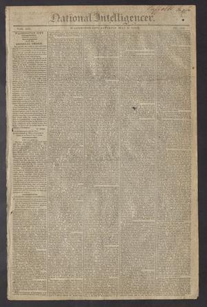 National Intelligencer. (Washington City [D.C.]), Vol. 13, No. 2006, Ed. 1 Saturday, July 31, 1813