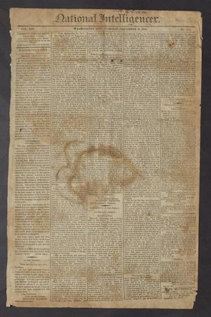 National Intelligencer. (Washington City [D.C.]), Vol. 14, No. 2052, Ed. 1 Tuesday, November 16, 1813