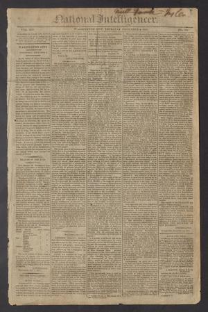 National Intelligencer. (Washington City [D.C.]), Vol. 13, No. 2047, Ed. 1 Thursday, November 4, 1813