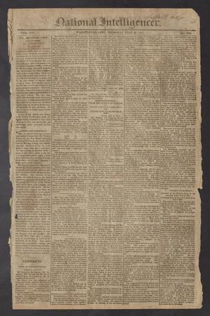 Primary view of National Intelligencer. (Washington City [D.C.]), Vol. 13, No. 2002, Ed. 1 Thursday, July 22, 1813