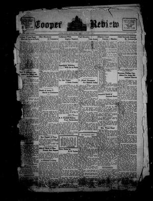 Primary view of Cooper Review (Cooper, Tex.), Vol. 41, No. 2, Ed. 1 Friday, January 9, 1920
