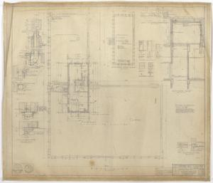 Primary view of object titled 'West Texas Utilities Office Addition, Abilene, Texas: Roof Plan'.