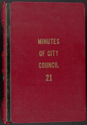 Primary view of object titled '[Abilene City Council Minutes: 1979-1980]'.