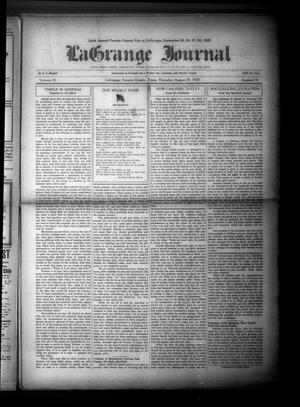 Primary view of La Grange Journal (La Grange, Tex.), Vol. 50, No. 35, Ed. 1 Thursday, August 29, 1929