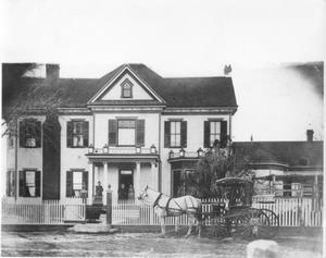 Primary view of object titled '[J. H. P. Davis Home in Richmond, Texas]'.