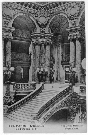 [Postcard from the Paris Opera House]