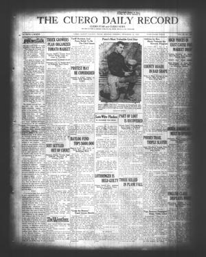 Primary view of object titled 'The Cuero Daily Record (Cuero, Tex.), Vol. 69, No. 139, Ed. 1 Monday, December 10, 1928'.