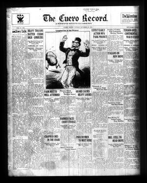Primary view of The Cuero Record. (Cuero, Tex.), Vol. 41, No. 245, Ed. 1 Sunday, October 20, 1935