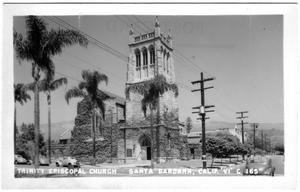 Primary view of object titled '[Trinity Episcopal Church - Santa Barbara, CA.]'.