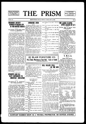 The Prism (Brownwood, Tex.), Vol. 15, No. 24, Ed. 1, Friday, February 11, 1916