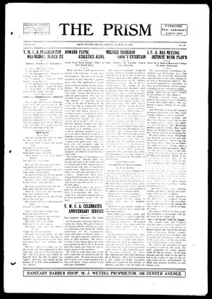 The Prism (Brownwood, Tex.), Vol. 15, No. 29, Ed. 1, Friday, March 17, 1916