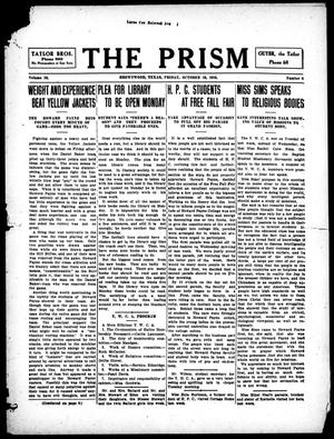 Primary view of object titled 'The Prism (Brownwood, Tex.), Vol. 16, No. 6, Ed. 1, Friday, October 13, 1916'.
