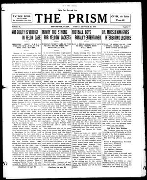 Primary view of object titled 'The Prism (Brownwood, Tex.), Vol. 16, No. 8, Ed. 1, Friday, October 27, 1916'.
