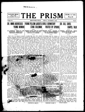 Primary view of object titled 'The Prism (Brownwood, Tex.), Vol. 16, No. 9, Ed. 1, Friday, November 3, 1916'.