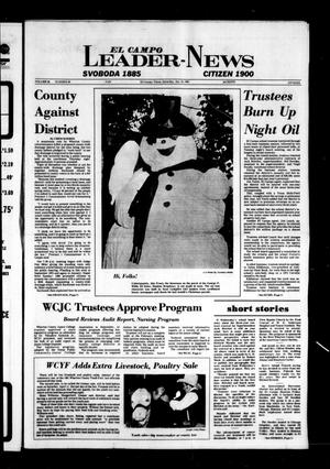 Primary view of object titled 'El Campo Leader-News (El Campo, Tex.), Vol. 96, No. 88, Ed. 1 Saturday, January 24, 1981'.