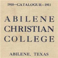 Abilene Christian University Catalogs