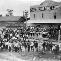 American Lumberman Photographs of Southern Pine Lumber Company