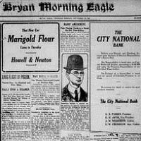 The Newspaper Collection of Bryan, Texas