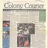 The Colony Newspaper Collection