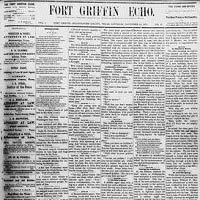 Fort Griffin Echo
