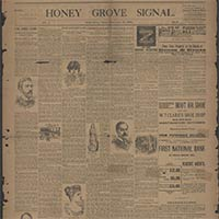 The Honey Grove Newspapers