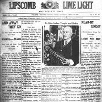 Lipscomb County Newspaper Collection