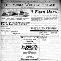 Mexia Newspaper Collection