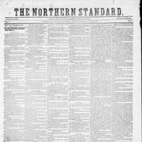 The Northern Standard, from Clarksville, TX
