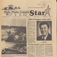 Palo Pinto County Newspapers