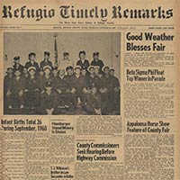 Refugio County Newspaper Collection