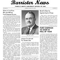 St. Mary's University School of Law Newspaper Collection