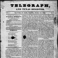 Telegraph and Texas Register