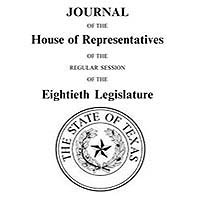 Texas House of Representative Journals