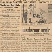 Westerner World Newspaper Collection